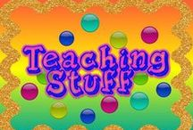 Teaching Stuff! / I absolutely love exploring the multitude of classroom materials and ideas available on Pinterest- the more I find, the more I realize I have only scratched the surface! Here I continue to post & share materials and ideas for classrooms kindergarten-8th grade-enjoy!   / by Amy Bratsos