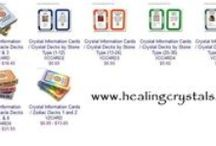 Healing Crystals Oracle Deck / http://www.healingcrystals.com/Crystal_Information_Cards___Oracle_Deck.html