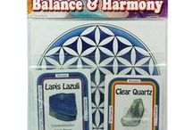 Crystal Grids / Various crystal grids to concentrate the energy for specific purposes.