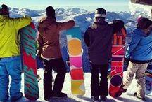 Snow (board) ing :))
