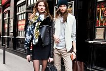 Celeb/Model Street Style / Favorite looks by models and celebs. / by Chelsea Inf