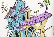 Cartoons/comics/illustrations