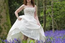 Rock The Frock / If you are a sentimental bride who can't bear to part with the most expensive dress you'll probably ever buy, why not have a #rockthefrock photo shoot? Get that most treasured dress from out of the loft and have fun on location in your gorgeous gown!