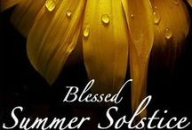 Litha/Midsummer/Summer Solstice / All things summer solstice, midsummer, litha. Thinks Sun, heat, bright colors, the Fae, and more