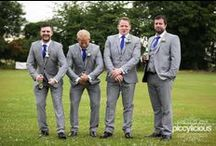 Gorgeous Grooms / It's all about the dashing grooms!