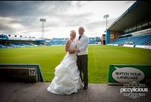 Wedding Priestfield Stadium Gillingham