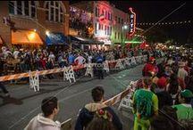6th Street Halloween in downtown Austin, Texas
