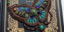 Bead embroidery Accessorys ビーズ刺繍アクセサリー