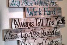 Wood boards..