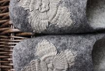 Wool - wol / Natural wool and felt