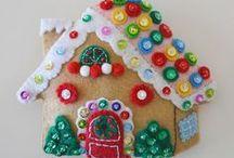 Natale....in feltro! / tantissime decorazioni per l'albero, per la casa e per la tavola in feltro/pannolenci in occasione delle feste natalizie