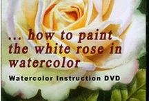 How to paint in watercolor / I love to share what I learned in watercolor. I have free watercolor tutorials, free reference photos, Watercolor DVDs and Art Lessons