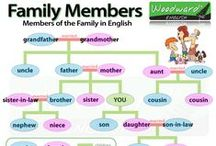 family and friends / pics, word lists, resources