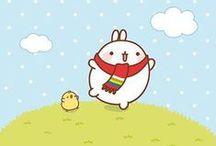 Molang / simpaticissimo coniglietto Kawaii