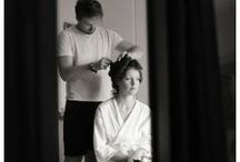Wedding preparations / Wedding photography - getting ready in the morning.