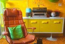 Retro decor / Retro and vintage decoration