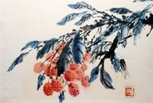 Oriental things / Chinese watercolors and other asia things
