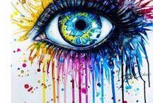 Art Watercolors Paintings I Love / Art, paintings, beautiful artist images, watercolor, designs I like