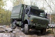 Large trucks / Fire-engines, 18 wheelers, military trucks, etc..
