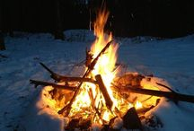 Fire / Building and starting fires, fire pits, firewood storage