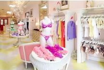 Faire Frou Frou boutique / Faire Frou Frou is a luxury lingerie boutique that specializes in unique designer intimate apparel & accessories. This destination boutique is located in the Los Angeles suburb of Studio City has represented the newest, most sought after names in the world of lingerie since 2005. Faire Frou Frou represents a number of high-end labels such as Fifi Chachnil, Bordelle, Chantal Thomass, Fleur of England, Huit, Damaris & Mimi Holliday, just to name a few.