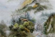 Pintura Asiática / Pintura china y japonesa