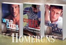 Homeruns Series / Inspiration for Wild Pitch, Curve Ball and the rest of the Homeruns series by Sloan Johnson