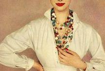 Vintage Fashion Purrfection / Featuring: glamorous, fabulous, vintage fashion.