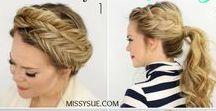 Cabello / Recopilación de hermosos peinados que puedes recrear en tu dia a dia, o en ocasiones especiales