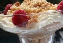 Petites douceurs sucrées / Recette de dessert : du sucré avec du chocolat, des fruits et plein d'autre chose !