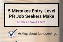 Job Tips for PR Pros / Professional development tips for public relations, communications and marketing professionals to get hired, advance your career, or continually be inspired.