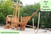 Berlin Playgrounds / The best of Berlin's amazing playgrounds!