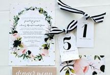 Paper Goods / Wedding paper products for my clients to be inspired by