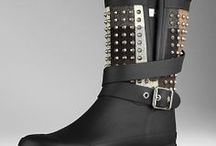 Boots / Boots with Nailhead Studs.