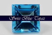 Swiss Blue Topaz / View all of our faceted swiss blue topaz available for wholesale purchase. Calibrated and available in oval and round