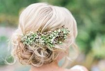 Wedding Hair Style Inspiration / Beautiful wedding hair styles for my clients