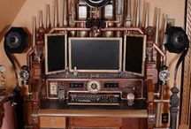 Steampunk office design / Offices with a steampunk twist