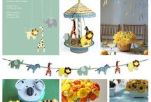 Baby Shower / Baby shower ideas- Noah's Ark theme