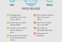 Content Marketing Tips / A collection of tips and best practices for using content marketing in your next PR or marketing campaign.