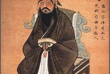 Confucius / Confucius was a Chinese teacher, editor, politician, and philosopher of the Spring and Autumn period of Chinese history.  The philosophy of Confucius emphasized personal and governmental morality, correctness of social relationships, justice and sincerity.