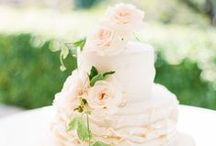 c a k e / Yummy & pretty wedding cakes - what else do you need? :)