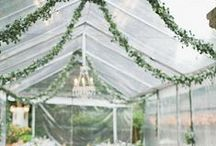 Wedding Tents / Gorgeous wedding tents for my clients to be inspired by