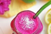 Exotic Fruit Smoothies. / Celebrating healthy green smoothies made with exotic fruits