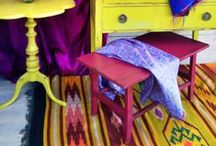 Bedroom kilims