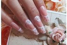 My vintage dream nails!!!Nail freaaak!!!! / Romantic,bridal,nudes,flowers,shabby chic,and pink pink pink nails!!!