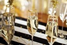 NYE Bash / Inspiration for a swanky New Year's Eve party or wedding!