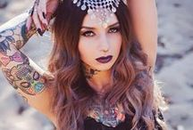 Fashion and Lifestyle / Tattoos, fashion, lifestyle, jewelry, clothes, hairstyles