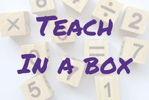 Teach In A Box / Good finds on Teach In A Box - please pin respectfully and *repin others*. If you would like to contribute you can message me here or email me at learninglarge@gmail.com (you will need to be following the board)