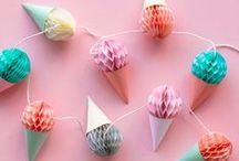 HAPPY BIRTHDAY / Decoratie ideeën voor ieder feestje. Life is a party!