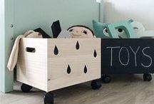 KIDS TOYS / Speelgoed en leuke opberg ideeën!